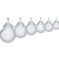 RV Globe Lights White 6 Pack