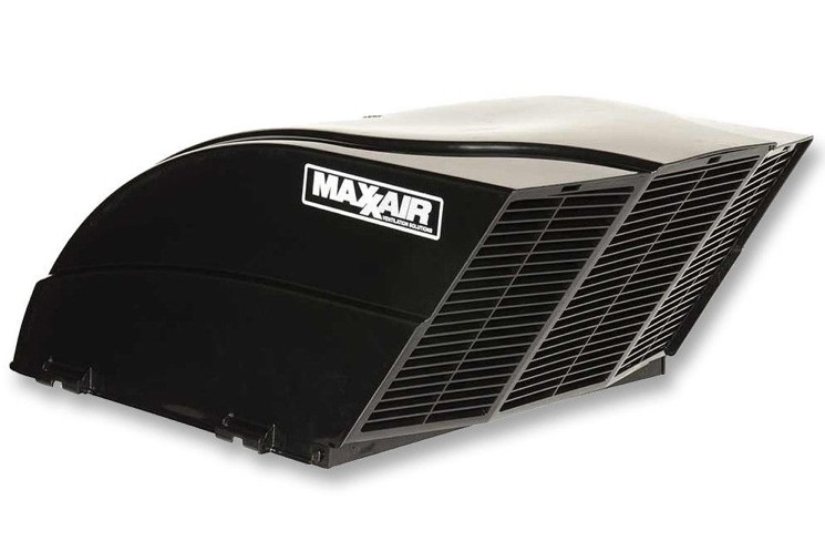 Fan Mate Power Vent Cover Model 950 Black Rv Parts Country
