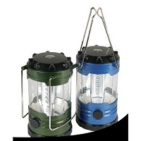 Lantern; LED; Uses 3 D Batteries; With Dimmer Function; Table Top/ Hanging Lantern