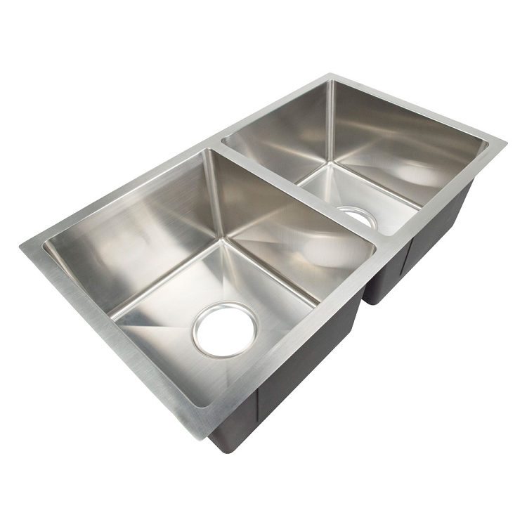 Lippert 27 Quot X 16 Quot X 8 Quot Double Bowl Stainless Steel Farms Sink