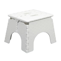 EZ-Foldz Step Stool White