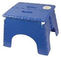 EZ-Foldz Step Stool Blue