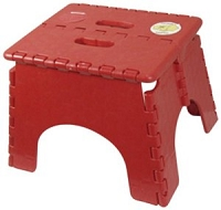 EZ-Foldz Step Stool Red