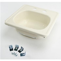 Lippert Square Outdoor Kitchen Sink 15