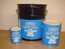 Heng S Rubber Roof Coating 1 Gal