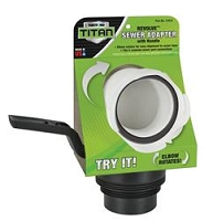 Thetford Universal Sewer Adapter With Handle