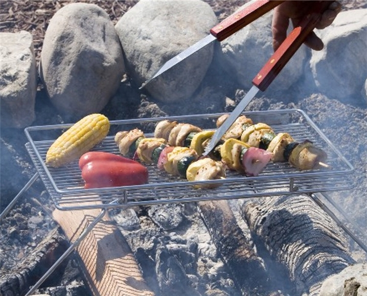 The Perfect Campfire Grill-The Explorer Grill