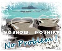 RV Decal-No Shoes Decal