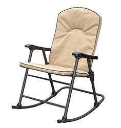 Cambria Arizona Tan Padded Rv Rocking Chair