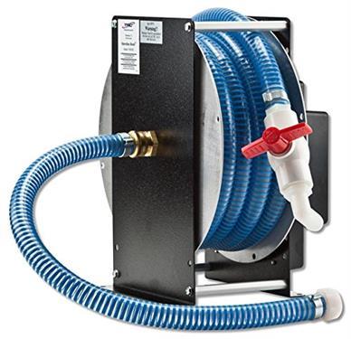 Hose reel shoreline reels tm use to store sewer water for 12 volt hose reel motor