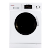 Pinnacle Appliances Clothes Washer/ Dryer Combo White/ Silver Trim
