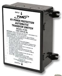 Tech Research Power Transfer Switch 120 Volt 30 Amp