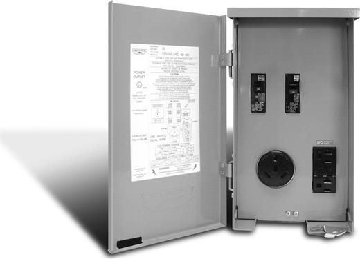 Receptacle Outdoor Indoor Use 120 240 Volt Ac Power