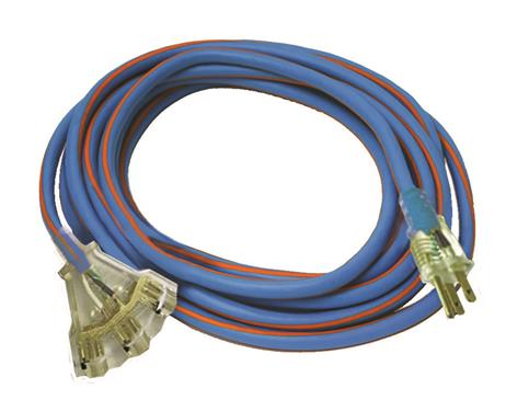 50 Amp Wire Size >> Extension Cord; Mighty Cord (TM); 3 Prong; Triple Outlet ...