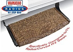 Rv Step Rug Wraparound Radius Curved 22 Quot Brown