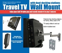 TV Wall Mount with Safety Straps, TVs  up to 37""