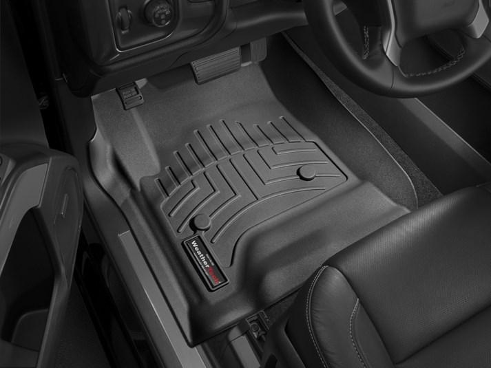 Weathertech Floorliner Black For Chevy Tahoe Gmc Yukon Cad