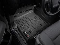 Weathertech Floorliner Black For Ford F150 Reg Supercrew