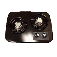 Suburban Drop-In Cooktop 2-Burner Black  2937ABK