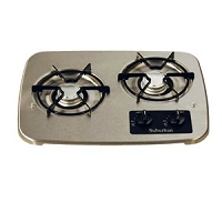 Suburban Drop-In Cooktop 2-Burner Stainless Steel 2937AST