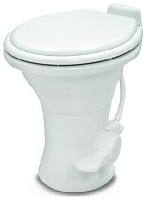 Dometic 310 Series Standard Height RV Toilet, White