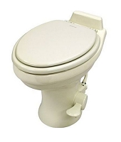 Dometic 320 Standard Height Ceramic RV Toilet, Bone