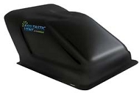 Black Ultra Breeze Fantastic RV Vent Cover