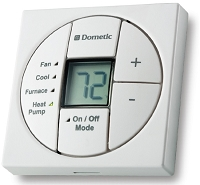 Dometic Single Zone LCD Thermostat and Control Kit White