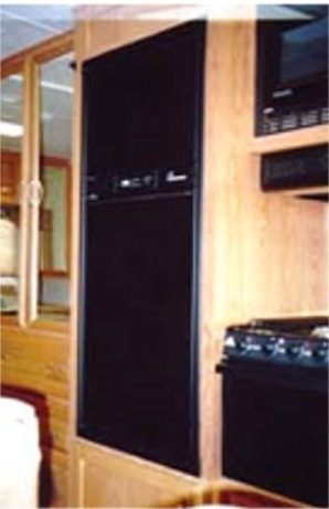 Refrigerator Door Panels Black Acrylic