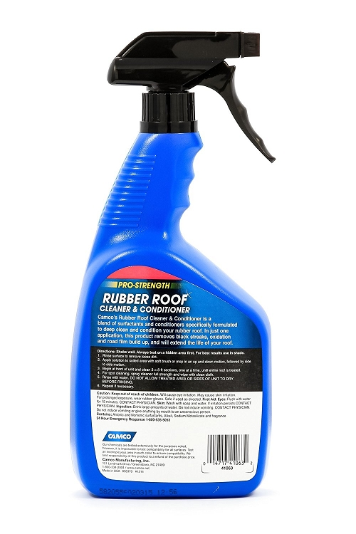Rv Roof Cleaner : Rubber roof cleaner and conditioner oz