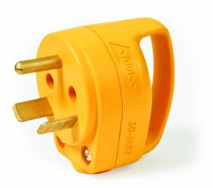 RV 30 AMP Mini Power Grip Extension Cord Plug