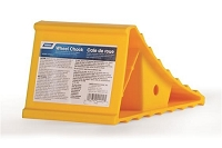 Camco Yellow Wheel Chock Hard Plastic