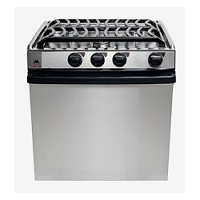 Atwood R-A2135 SSPSA 52815 21 Inch 3 Burner High Output Range Oven Stainless Steel