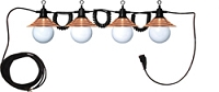 4 Globe Decorator Light String