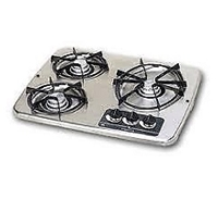 Attwood/Wedgewood Vision Drop-In Cooktop 3-Burner SS 56472