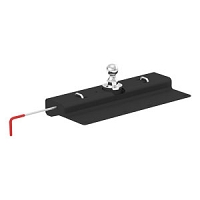 REMOVABLE BALL GOOSENECK HITCH, NISSAN TITAN