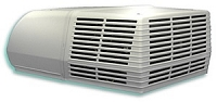 Coleman 13500 BTU RV Air Conditioner Complete with Ceiling Assembly, White