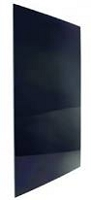 Norcold Refrigerator NXA641 Lower Door Panel Black Plexiglass