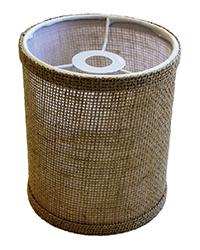 Lasalle Bristol Barrel Lamp Shade Burlap