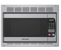 Microwave, 1.0 Cubic Ft, Stainless Steel with Trim