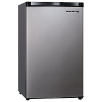 4.1 cu. Ft. Refrigerator, Stainless Steel
