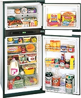 NX641 Gas Refrigerator, 3-Way w/Ice Mkr, Blk, RH