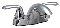 2-Handle, 4' Lavatory Faucet, Brushed Nickel