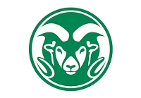 College Tire Cover, Colorado State, Large, White