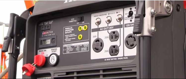 power honda product generator