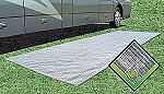 Breathable Outdoor Mat, 7-1/2' x 20'