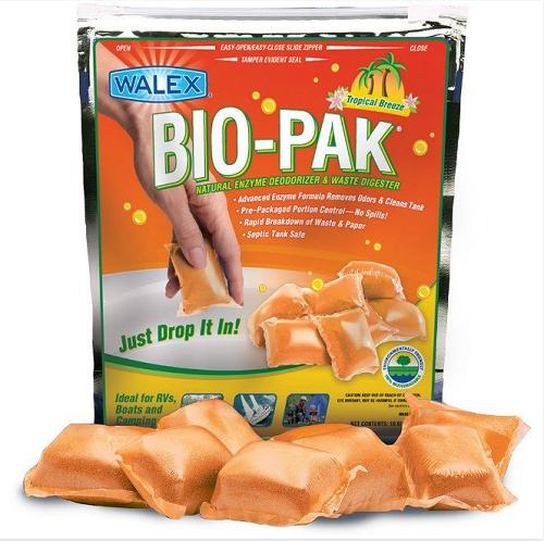 Bio Pak Rv Holding Tank Deodorizer Amp Waste Digester 10 Bag