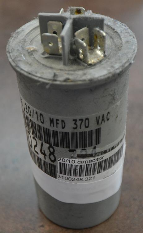 Dometic Run Capacitor Gray 3 Prong