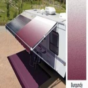 Carefreerv Awning Replacement Fabric 20ft Burgundy Fade