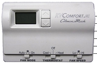 Coleman RV Air Conditioner Wall Thermostat HEAT/COOL 12V